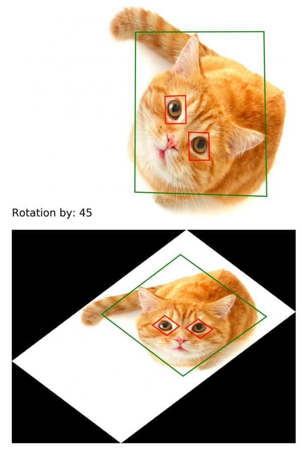 Image rotation using OpenCV - Cristian Perez Brokate